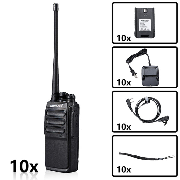 TD-777 UHF & USB Two-Way Radio Bundle( 10PCS )