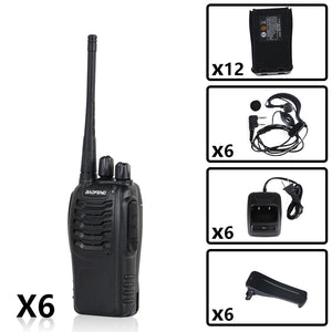BAOFENG BF-888S UHF RADIO BUNDLE( 6PCS )