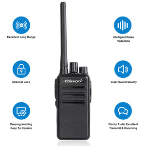 TIDRADIO UV-5R 5W UHF+VHF Two Way Radio