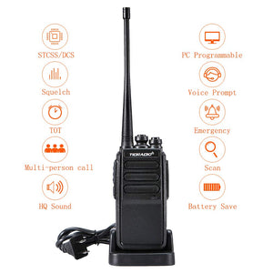 TD-777 UHF & USB Two-Way Radio Bundle( 4PCS )