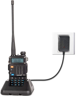 TIDRADIO TD-F9GP Ham Radio Handheld Upgraded Version of UV-5R Radio High Power 2 Way Radio (1Pack-Black)