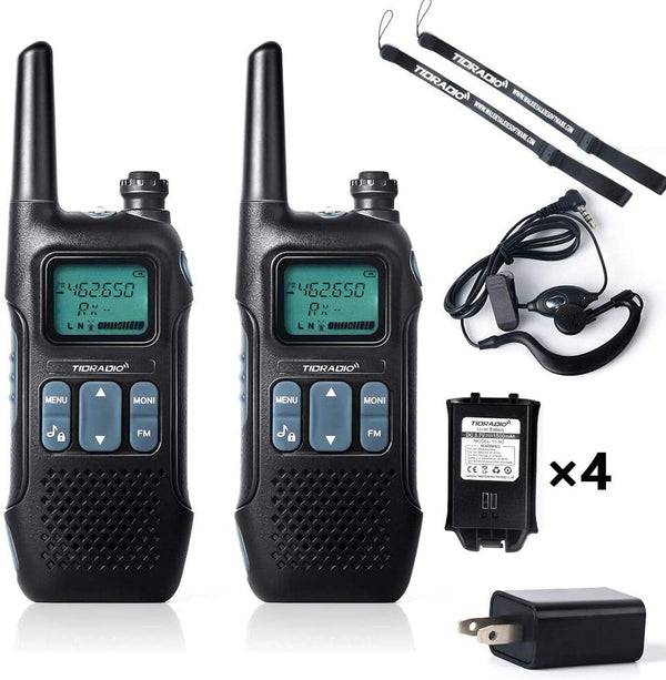 TIDRADIO TD-M2 NOAA Weather Alert FRS Walkie Talkies( 2PCS )