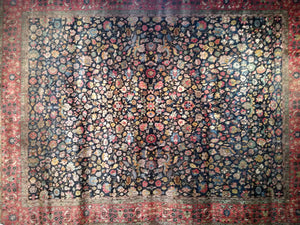 Antique Amritsar and Kashmir Carpets