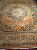 Antique Persian Tabriz Oversize Rug