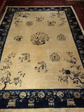 Antique Peking Chinese Room Size Rug