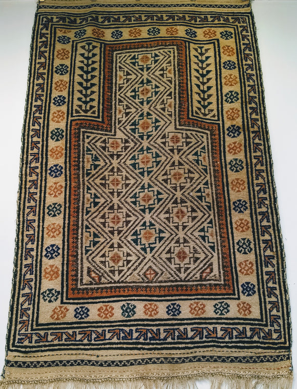 Persian Baluch Tribal Rug
