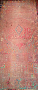 Antique Moroccan Gallery Rug