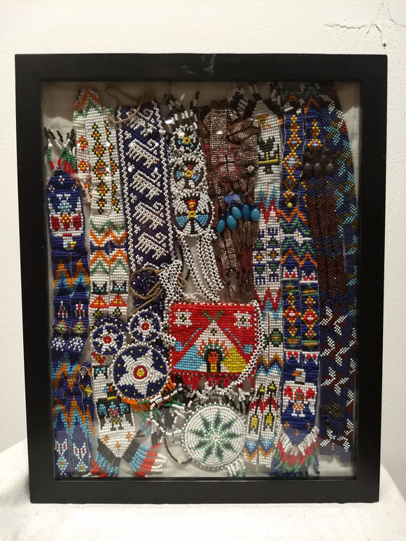 Native American Beaded Artwork - Barrington Fine Rug Gallery