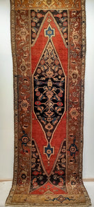 Antique Persian Bidjar Runner