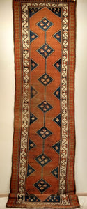 Antique Persian Kurdish Runner