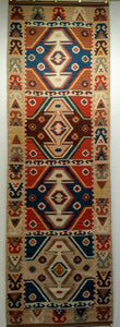 Vintage Turkish Kilim Runner