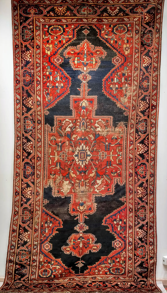 Antique Kurdish Gallery Rug