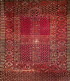 Antique Tekke Ensi Tribal Area Rug