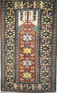 Vintage Turkish Village Oriental Rug