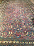 Oversize Antique Persian Khorassan Rug