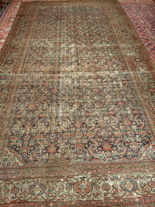 Antique Persian Farahan Area Rug