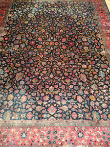 An Antique Agra Rug from the Early 1900s