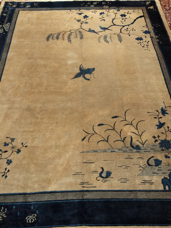 Art Deco Chinese Area Rug