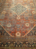 Antique Mahal Sultanabad Rug