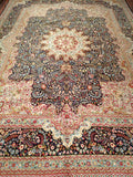 A Persian Kerman Lavar Rug from the Early 1900s