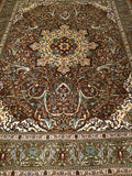 A Persian Tabriz Room Size Area Rug