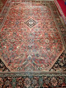 Vintage Persian Mahal Sultanabad Rug