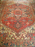 Antique Persian Heriz Room Size Rug