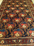 A Vintage Persian Room Size Rug in Gol Farang Design