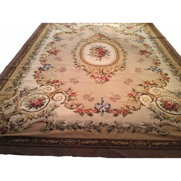 Aubusson - Room Size Rugs (6x9 to 10x14) - 3rd Quarter of 20th Century China