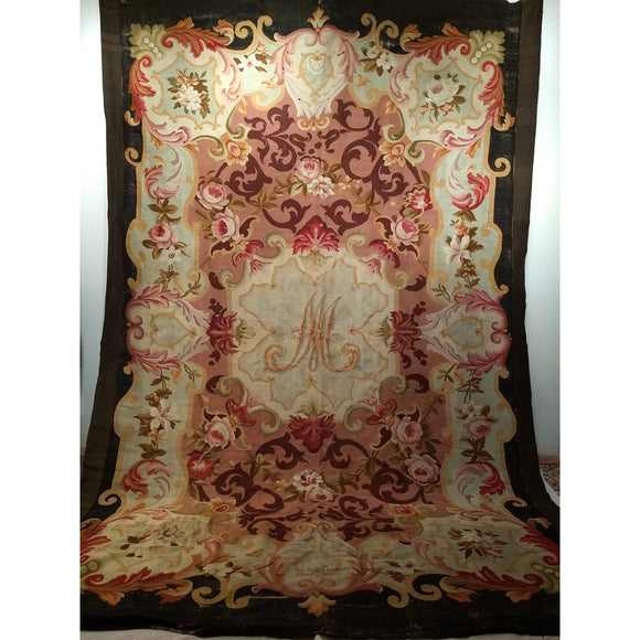 Aubusson - Room Size Rugs (6x9 to 10x14) - 811 x 134 3rd Quarter of the 1800s France