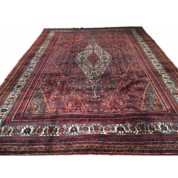 Bibikabad - Room Size Rugs (6x9 to 10x14) - 1st Quarter of 1900s Persia