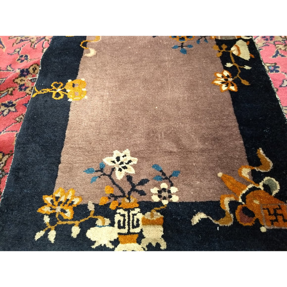 Chinese Art Deco - Scatter Size Rugs (2x3 to 5x8) - 1st Quarter of the 20th Century China
