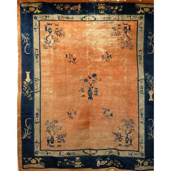 Chinese Peking - Room Size Rugs (6x9 to 10x14) - Late 19th Century China