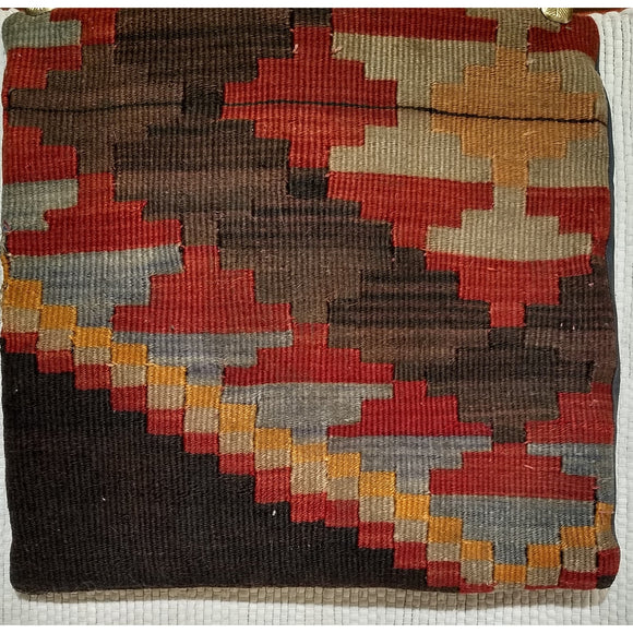 Kilim Pillow - Pillows - 2nd Quarter of 1900s Turkey