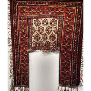 Kurdish Saddle Blanket - Saddlebags and Blankets - 1st Quarter of 1900s Persia