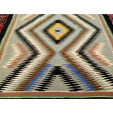 Navajo - Americana Navajo Scatter Size Rugs (2x3 to 5x8) - 3rd Quarter of the 1900s Southwest United States