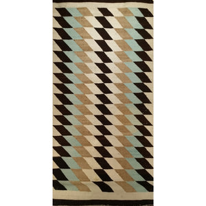 Navajo - Americana Navajo Scatter Size Rugs (2x3 to 5x8) - 3rd Quarter of the 1900s Southwest North America