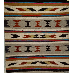 Navajo - Americana Navajo Scatter Size Rugs (2x3 to 5x8) - 3rd Quarter of the 1900s Southwest America