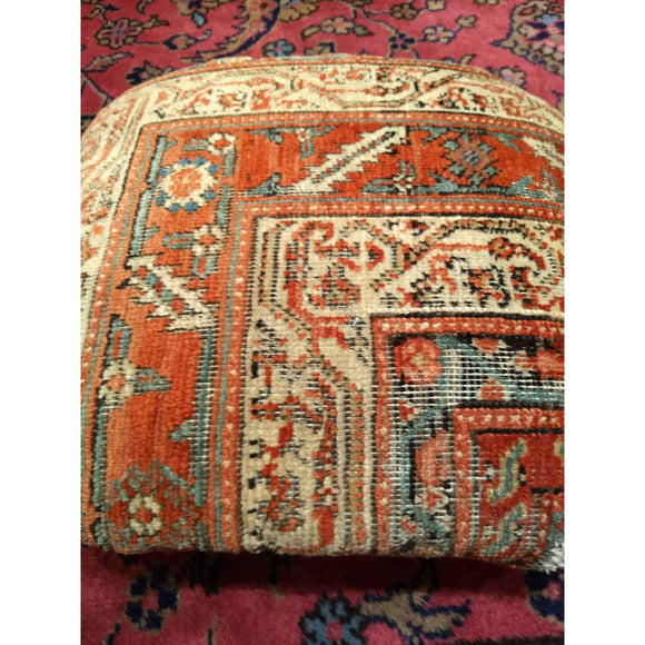 Rug Pillow - Pillows - 4th Quarter of 1800s Persia