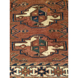 Yomut Chuval - Saddlebags and Blankets Scatter Size Rugs (2x3 to 5x8) - 4th Quarter of the1800s Central Asia