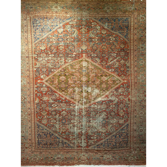 Ziegler Mahal Sultanabad - Room Size Rugs (6x9 to 10x14) - 2nd Quarter of the 1800s Persia