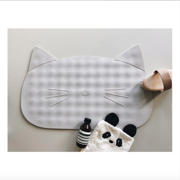 storm bathmat - cat dumbo grey 灰色貓咪浴室墊