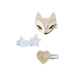 arctic fox clip pack / a set of 3