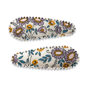 bernadette hair clips / a set of 2