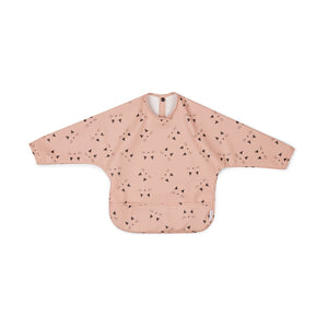 merle cape bib - cat rose