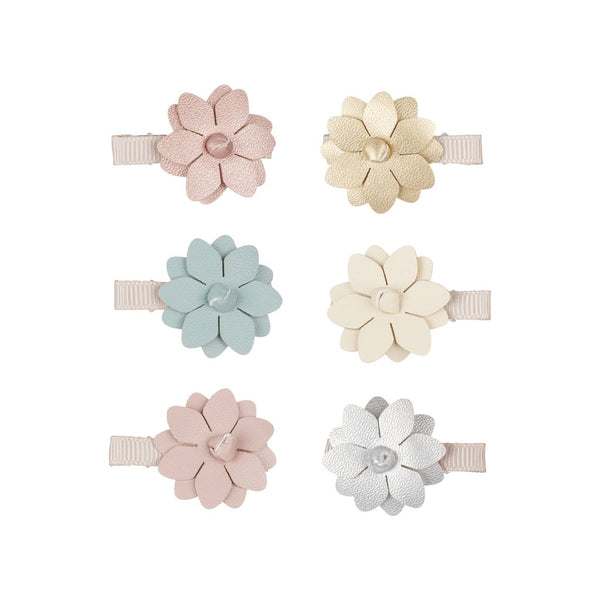 blossom salon clips / a set of 6 小花髮夾 (6件裝)
