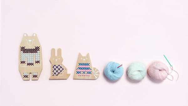 cross stitch friends – rabbit
