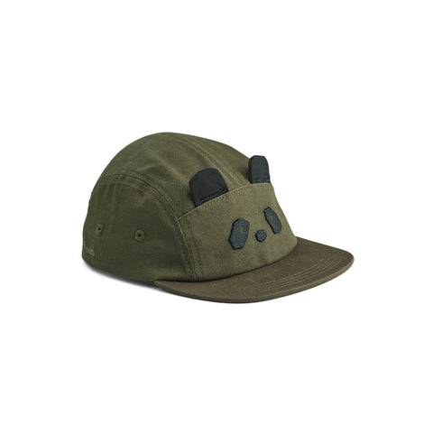 rory cap - panda hunter green
