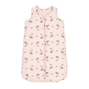 adèle summer sleeping bag fawn print - light pink 粉紅小鹿夏季睡袋