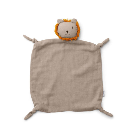 agnete cuddle cloth - lion stone beige 獅子安撫巾